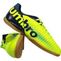 Chuteira Umbro Innverse Futsal Verde