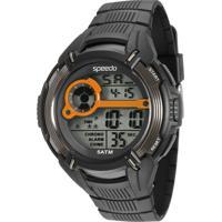Kit De Relógio Digital Speedo Masculino + Carregador Portátil - 81094G0Evnp4K Preto