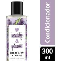Condicionador Smooth And Serene Óleo De Argan & Lavanda Love Beauty And Planet 300Ml - Feminino-Incolor