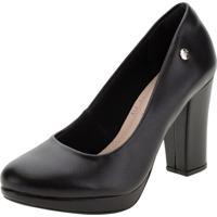 Sapato Feminino Salto Alto Via Marte - 191953 Preto 35