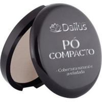 Compacto Dailus Color 2. Bege Claro - Feminino-Bege