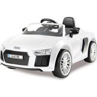 Carrinho 6 Voltz Audi R8 White Branco Xalingo