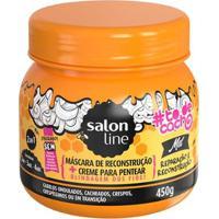 Máscara De Reconstrução Salon Line #Todecacho Mel 2 Em 1 - 450G - Unissex