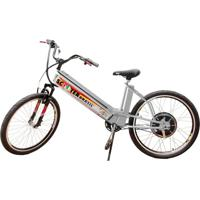Bicicleta Elétrica Scooter Brasil Mtb 800W 48V 12Ah Branca