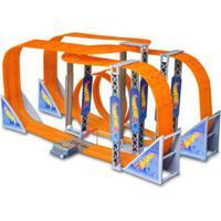 Pista De Corrida E Veículos - 1300Cm - Hot Wheels - Zero Gravity - Multikids