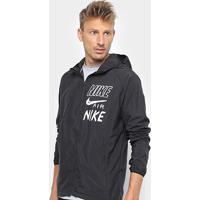 bf89670ff3c ... Jaqueta Nike Corta Vento Essential Hd Hbr Masculina -  Masculino-Preto+Branco