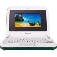 "Netbook Positivo Mobokids - Intel Atom - Ram 1Gb - Hd 4Gb - Tela 7"" - Linux"