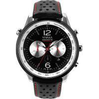 Relógio Vivara Masculino Couro Preto - Ds13700R1L-2