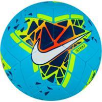Bola De Futebol De Campo Nike Strike - Azul/Azul Esc