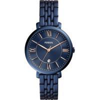 acb7143a5d5 ... Relógio Fossil Feminino Jacqueline - Es4094 4An Es4094 4An - Feminino -Azul