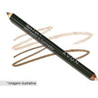 Lápis 2 Em 1: Delineador & Iluminador- Marrom Chocolate