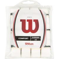 Overgrip Wilson Pro Pack Branco Com 12 Unidades - Unissex