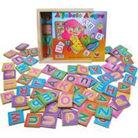 Alfabeto Alegre Ciabrink Multicolorido - Kanui