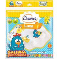 Cueiro De Luxo - Galinha Pintadinha - Cremer - Unissex-Branco