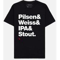 Camiseta Estilos Reserva Masculino - Masculino-Preto
