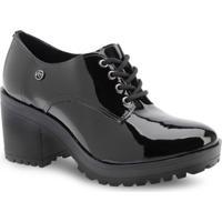 Sapato Oxford Em Verniz Via Marte 6506