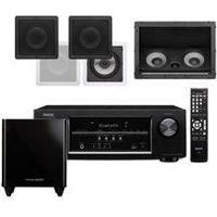 Home Theater Receiver Avr-S510Bt Cx Gesso Sq6-Pa Sq6-100 Lht-100 Loud Subwoofer Hkts 210