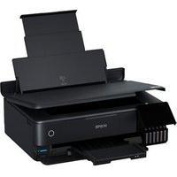 Impressora Multifuncional Epson Ecotank L8180, Fotográfica, Colorida, Wi-Fi, 110V, Usb, Visor Lcd, Preto - C11Cj21302