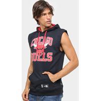 Colete Chicago Bulls Nba New Era Canguru Big College Masculino - Masculino