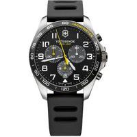 Relógio Victorinox Swiss Army Masculino Borracha Preta - 241892