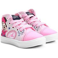 Tênis Disney Minnie Infantil - Feminino-Rosa