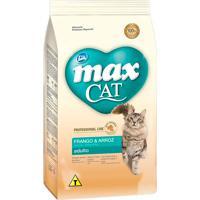 Ração Para Gatos Max Cat Professional Line Adultos Sabor Frango E Arroz 10,1Kg