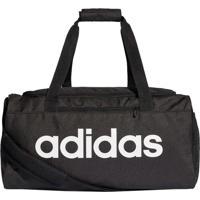 Bolsa Adidas Lin Core Duf Preto/Branco T Un
