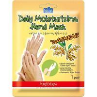 Máscara Hidratante Para Mãos Purederm Aveia 1 Par - Feminino-Incolor