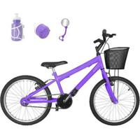 Bicicleta Infantil Aro 20 - Feminino