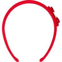 Salvatore Ferragamo Headband 'Vara' - Vermelho