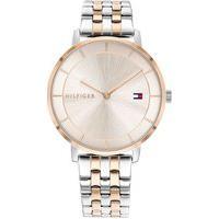 Relógio Tommy Hilfiger Feminino Aço Prateado E Rosé - 1782284