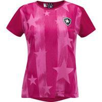 Camiseta Do Botafogo Outubro Rosa 19 - Feminina - Rosa