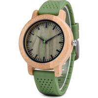 Relógio Madeira Dododeer-B11 Verde