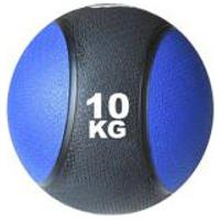 Bola Medicinal Medicine Ball 10Kg Ahead Sports Preto