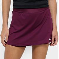 Saia Short Nike Dry - Feminino-Vinho