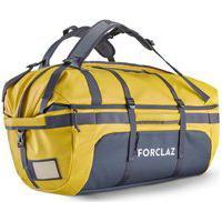 Bolsa De Transporte De Trekking Duffel 500 Extend 80 A 120 Litros - Trekking Bag Extend 80/120 Yel, 80L