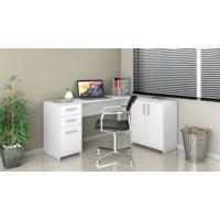 Mesa Office Canto Notavel Branco
