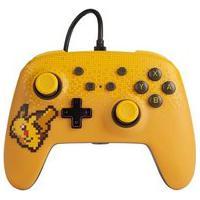 Controle Power A Para Nintendo Switch Enwired Controller Pixel Pikachu, Com Fio - 1518383-01