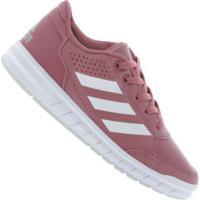 Tênis Adidas Altasport K - Infantil - Rosa Esc/Branco