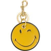 Anya Hindmarch Chaveiro 'Smiley' - Amarelo