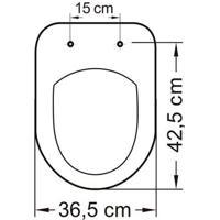 Assento Sanitário Soft Close Termofixo Riviera/Nexo Evolution Branco Tupan