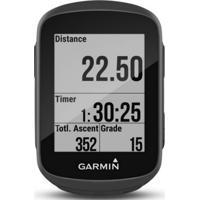"""Ciclocomputador Garmin Edge 130 Preto Gps Display De 1,8"""" Sensor De D"""