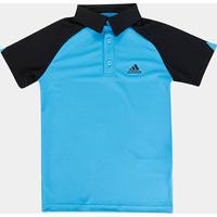 Camisa Polo Infantil Adidas Club - Masculino