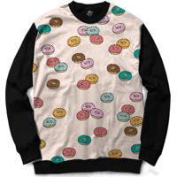 Blusa Bsc Donuts Full Print - Masculino