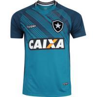 ... Camisa De Goleiro Do Botafogo I 2018 Topper - Masculina - Petroleo dded72d93a3a6