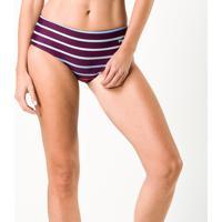 Sunquini Bottom Degrade Stripes Feminino