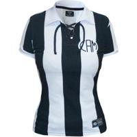 Camisa Retrô Mania Atlético Mineiro 1914 Feminina - Feminino