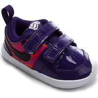 Tênis Infantil Nike Pico 5 Auto Tdv - Unissex-Roxo+Preto