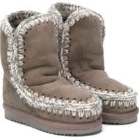 Mou Kids Ankle Boot Eskimo - Cinza