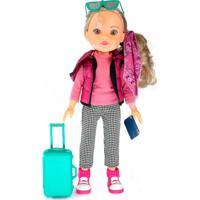Boneca Meu Mundo Malu Viajante 37Cm - Estrela